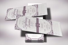 Vintage Luncheon Ticket Template Product Image 3