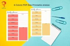 Weekly Planner Printable To Do List Product Image 3