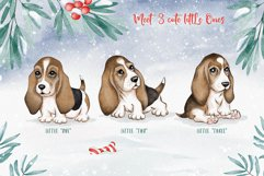 Woof Christmas Watercolor Product Image 5