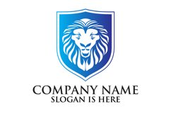 Lion shield logo design ,Elegant lion head logo Product Image 2
