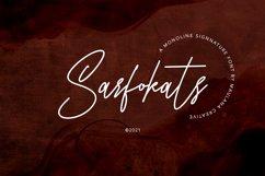 Sarfokats Monoline SIgnature Font Product Image 1