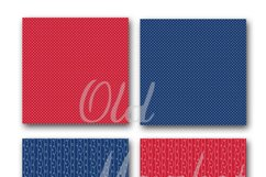 Patriotic Digital Paper Product Image 3