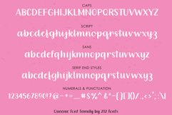 Queenie Font Family including Script, Sans, and Serif Product Image 3