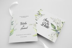 Watercolor Greenery Bouquets Clipart Product Image 6