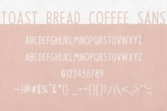 Toast Bread Coffee Typeface Product Image 3