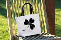 SVG clover with an ornament for Patrick's Day Product Image 4