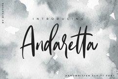 Andaretta - Brush Font Product Image 1