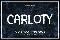 Web Font Carloty Product Image 1