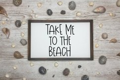 Web Font Sunshine Time - A Quirky Hand-Lettered Font Product Image 2