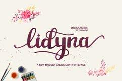 Lidyna Script Product Image 1