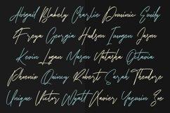 Chordettes Signature Script Brush Handmade Font Product Image 3