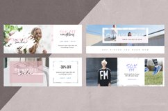 Canva - Marble Facebook Cover Pack Product Image 4
