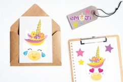 Unicorn emojis Graphics and illustrations, vecto Product Image 4