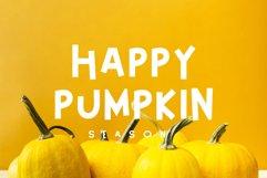 Happy Pumpkin Font Product Image 1