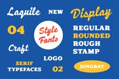 Laquile - Display Font Product Image 3