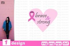 Cancer SVG Bundle | Awareness SVG | Breast Cancer Cut File Product Image 14