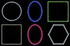 Gemstone/Diamonds Frames Clip Art Product Image 2