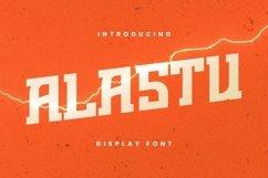 Web Font Alastu Font Product Image 1