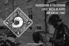 Web Font Arkansas Product Image 2