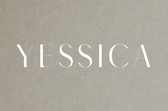 Yessica Sans Serif Font Family Product Image 1