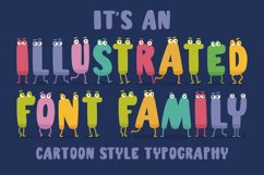 Charm - illustrated letter font Product Image 3