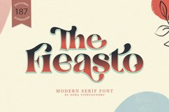 The Fieasto/Modern serif Font Product Image 1