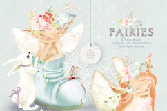 Baby Fairies Clipart Collection Product Image 2