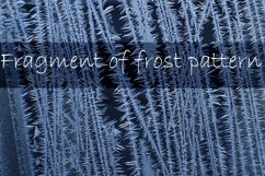 Winter windows with frost textures Product Image 2