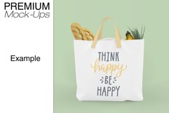 Tote Canvas Bag Mockups Product Image 5