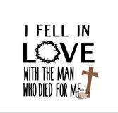 I fell in love svg Jesus svg Easter svg Christian cut file Product Image 2