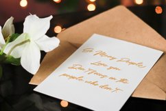 Holly Wings Calligraphic Font Product Image 5