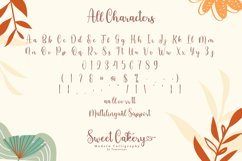 Sweet Cakery Script Product Image 6