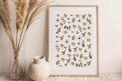 Boho Flower Wall Art, Boho Flowers Set, Flower Wall Print Product Image 3