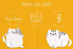 Meow a hand-drawn cute font! Product Image 6