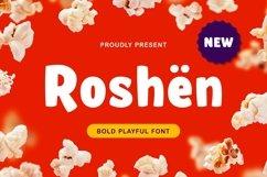 Roshën - Bold Playful Font Product Image 1