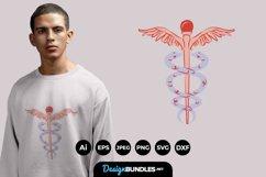 Caduceus for T-Shirt Design Product Image 1