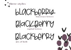 Blackberry - A Fun & Mismatched Font Product Image 5