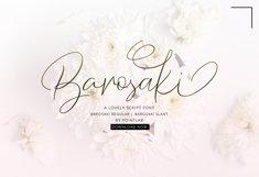 Barosaki Script Product Image 1