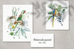 Tropical summer. Watercolor set. Product Image 2