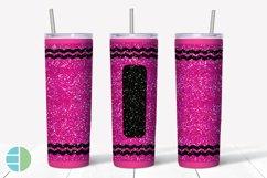 Skinny Tumbler Sublimation Design - Glitter Crayon Tumblers Product Image 3