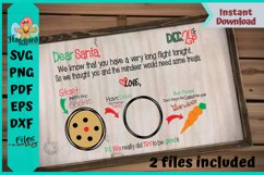 Dear Santa Placemat Product Image 3