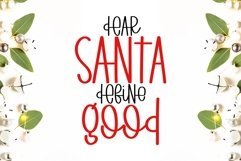 Day Before Christmas - A fun handritten mixed case font Product Image 2