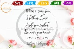 When I Saw You Valentine SVG PDF PN Product Image 1