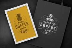 Coffee Quotes and Phrases set Product Image 5