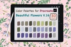 Color Palettes set for Procreate - Beautiful Flower V.16 Product Image 1