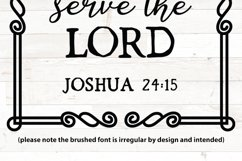 As for me and my house we will serve the lord joshua 24 15 Product Image 2