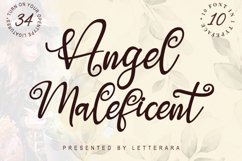 Angel Maleficent Product Image 1