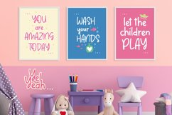 Web Font - Yel Yeah - Quirky Handwritten Font Product Image 5