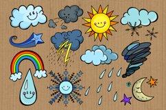Happy Sky Weather Seasonal Climate Illustrations Product Image 2