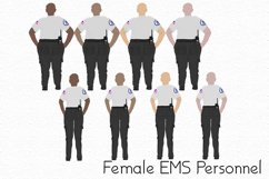 First Responder Clipart Set Product Image 8